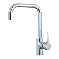 Round Square Neck Kitchen Mixer Tap