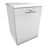 NEW DISHWASHER FREESTANDING HALF LOAD ELECTRIC AUTOMATIC 60CM WHITE