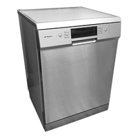 15 Place Stainless Steel Dishwasher with Turbo Dry - 600mm