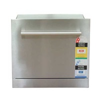 Built-In Integrated 6 Place Stainless Steel Electronic Dishwasher Drawer