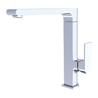 Designer Square Rounded Back Premium Kitchen Mixer Tap