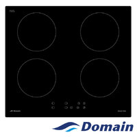 Four Burner Dual Bridge Induction Cooktop With Touch Controls - 590MM - IND60-EC