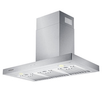 Stainless Steel Flat Canopy Rangehood - 900mm
