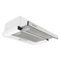 Stainless Steel Inbuilt Slide Out Rangehood - 600mm