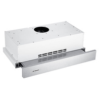 Recirculating Stainless Steel Inbuilt Slide Out Rangehood - 600mm