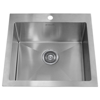 Hand Made Premium Top Mount Laundry Trough / Sink - 530mm