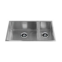 Double Bowl Under Mount Kitchen Sink - 720mm