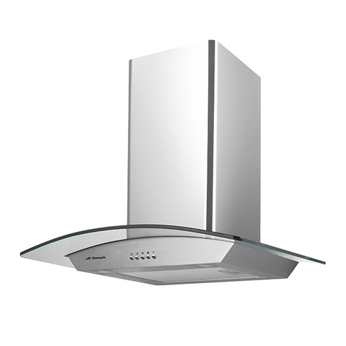 Stainless Steel Curved Glass Canopy Rangehood - 600mm - RHD60-CURV-A