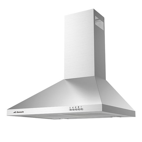 Stainless Steel Tapered Canopy Rangehood - 600mm