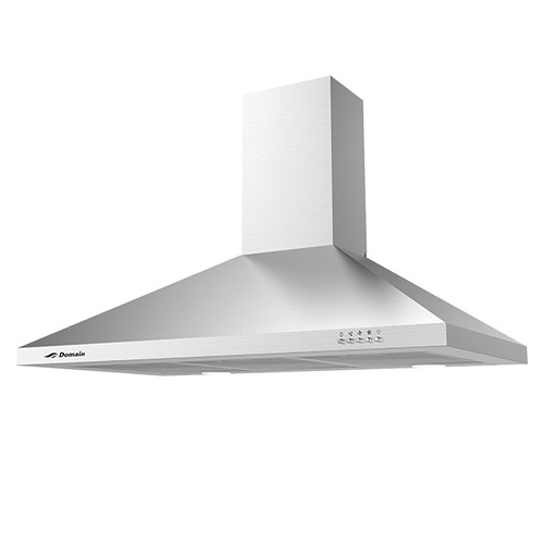 Stainless Steel Tapered Canopy Rangehood - 900mm - RHD90-TAPE-A