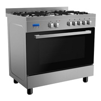 9 Function Stainless Steel Freestanding Cooker - 900mm - FCS90